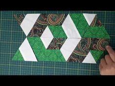 Escadaria de Cubos - Patchwork Fácil - YouTube