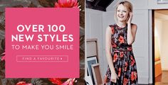 OVER 100 NEW STYLES TO MAKE YOU SMILE
