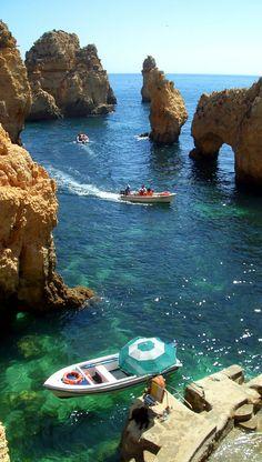 Algarve beaches, Portugal