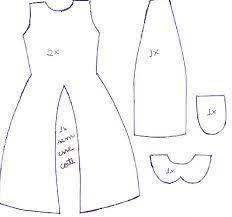 Image result for patrones de ropa para barbie gratis en español
