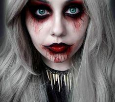 Halloween-Makeup-Ideen-Halloween-Schmink-Idee-Rot