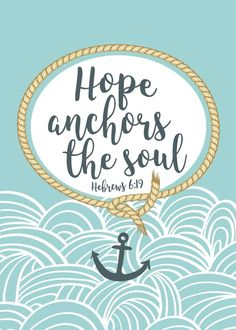 Our mission is to beautifully display God's word throughout your home and work environments with bible verse prints. Anchor Quotes, Bible Verses Quotes, Bible Scriptures, Faith Quotes, Anchor Bible Verses, Love One Another Quotes, Graduation Quotes, Jesus Lives, Graffiti