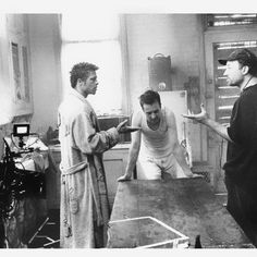 Another behind the scenes of Fight Club