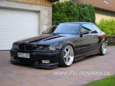 Black e36 coupe on Oz mito wheels BMW E36 Culture Album Pintere - E36 coupe black