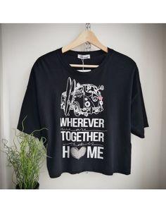 T-shirt με τύπωμα κοντό