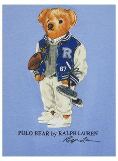 Monogram Wallpaper, Bear Wallpaper, Ralph Lauren Logo, Ralph Lauren Style, Sailor Theme, Polo Logo, Bear Illustration, Preppy Men, Polo Blue