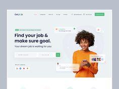 Homepage Design, Best Web Design, App Ui Design, Web Design Trends, Job Website, Website Layout, Web Layout, Landing Page Inspiration, Website Design Inspiration