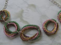 RAINBOW RING NECKLACE