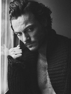 There isn't enough Luke Evans on this board, but that's about to change. :)