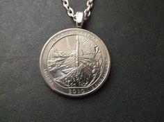 Grand Canyon Arizona United States Quarter Coin by MistyGem