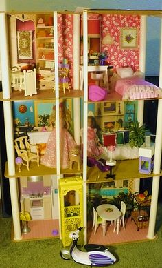 1977 Barbie Townhouse! | I had this exact house... No idea what happened to it! :(