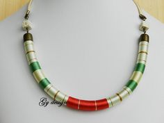 Statement necklace rope necklace summer necklace choker by Gydesi