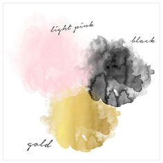Black Gold Bedroom Perfect color palette gold blush pink and black - love! Blush Color Palette, Gold Color Palettes, Gold Color Scheme, Pink Color Schemes, Gold Palette, Blush And Gold, Blush Pink, Black Gold Bedroom, White Bedroom