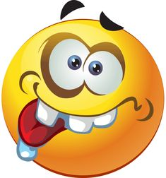 Wacky Smiley- This smiley is not ashamed to be nuts; it thrives on wackiness as you can see.