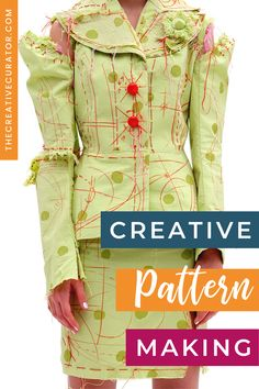 Pattern Cutting, Pattern Making, Make Your Own, How To Make, Pattern Drafting, Fashion Sketches, Diy Fashion, Learning, Sewing
