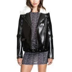 >> Click to Buy << 2017 Autumn Winter Leather Jacket Women Brand PU Leather Coat Women Fur Collar Faux Leather Zipper Jacket Female Black XS-XXL #Affiliate