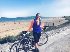 What beautiful day for a cycle ☀️ I cycled Clontarf, Howth hill, Malahide and Portmarnock My last spin before my big around Ireland next week, in aid of Aware. Dublin Ireland, Beautiful Day, Spin, Beach, Instagram Posts, Summer, Summer Time, The Beach, Beaches
