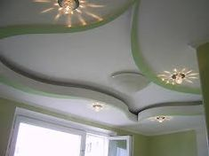 Large catalog for plaster designs for false ceilings for all rooms in modern style 25 modern plaster ceiling designs with integrated LED ceiling lighting systems to inspire you Plaster Ceiling Design, Interior Ceiling Design, Pop False Ceiling Design, Ceiling Light Design, Ceiling Decor, Ceiling Lighting, Led Ceiling, House Ceiling Design, Ceiling Design Living Room