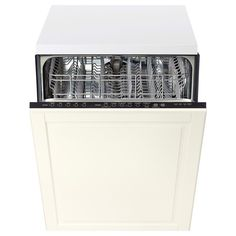 IKEA - RENLIG Built-in dishwasher with door Bodbyn off-white