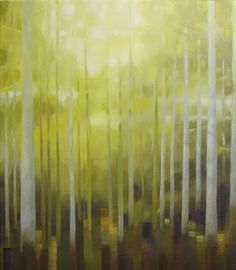 Painting: Rob Donders   Oil on canvas - DENNENBOS