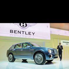 Bentley SUV concept car