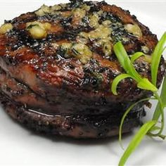 Sirloin Steak with Garlic Butter: 4 ingredients. including the steaks. have never tasted any other steak that came even close to the ones made with this recipe...The butter makes this steak melt in your mouth wonderful.