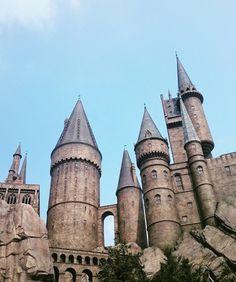 Osaka Harry Potter castle,universal studios, USJ,Japan