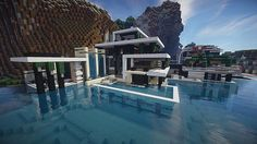Chicken Cove luxurious house addons updated beautiful download minecraft building ideas 11