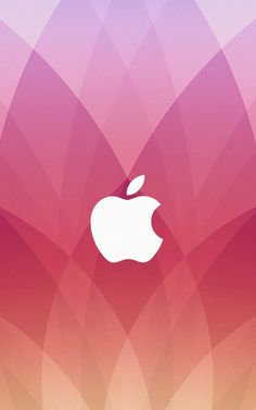Pink Apple Logo Wallpaper  Pink Apple Logo Wallpaper Download