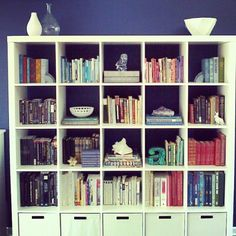 My Expedit bookcase from Ikea