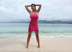 Polish model Ewa Sonnet