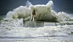 Waht a wave in Kalk Bay, Cape Town! Huge Waves, Wild Weather, Nature Reserve, Cape Town, South Africa, Landscape Photography, Surfing, Around The Worlds, Lighthouses