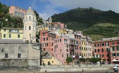 A rebuilt Vernazza shines in the Italian sunlight. (From: Photos: 13 Travel-Inspiring Scenes from Italy's Cinque Terre)