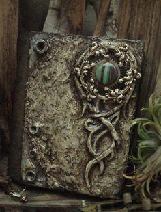 Handmade book by Luthien Thye (Altered Alchemy)