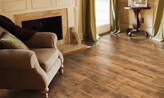 Timberloft Laminate, Desert Smoked Hickory Laminate Flooring | Mohawk
