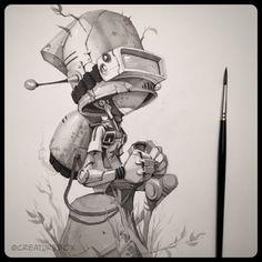 CreatureBox • Inktober Day 14: Verne wondered how many more...