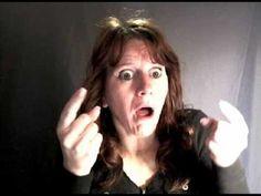 Trix Bruce: Halloween English Idioms in American Sign Language