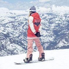 Shop Women's outerwear, apparel, bags, snowboard gear, and more from Burton. Snowboarding Gear, Ski And Snowboard, Pink Snow, Snow Gear, Snow Fashion, Burton Snowboards, Maze, Gears, Skiing
