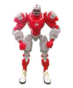 Look at this #zulilyfind! Ohio State Buckeyes FOX Sports Robot Action Figure by Foamheads #zulilyfinds