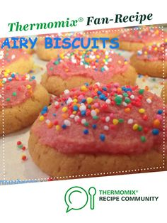 Recipe Fairy Biscuits by Thermosherrie, learn to make this recipe easily in your kitchen machine and discover other Thermomix recipes in Baking - sweet. Icing Recipe, Sweet Recipes, Cake Recipes, Dessert Recipes, Easy Chocolate Chip Cookies, Chocolate Chips, Bellini Recipe, Cake Stall, Desert Recipes