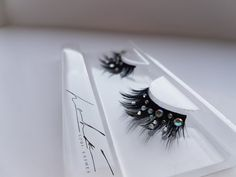 Moulin D'or Beauty: Loui Lashes CRYSTAL QUEEN by Moulindor on Etsy