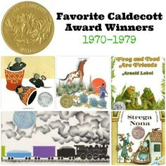 Favorite Caldecott Books 1970-1979   The Jenny Evolution