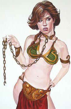 Star Wars Breakfast Club Mashup: Slave Claire