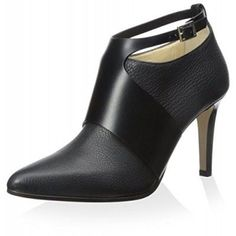 Jimmy Choo Women's Telma Ankle Bootie, Black, 37.5 M EU/7.5 M US