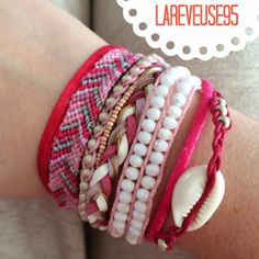 Le blog de la Rêveuse: DIY bracelet inspiration Hipanema