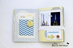 mini album scrapbook Paris