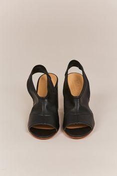 MM6 Maison Margiela - leather heel