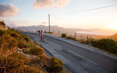 Sunset Road Cycling by Christoph Oberschneider on Sunset Road, Long I, Mediterranean Sea, Road Cycling, Sardinia, Fun Workouts, Beautiful Places, Images, Bicycle