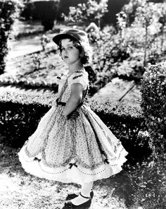 Shirley Temple in The Littlest Rebel, 1935.