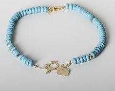 Turquoise  necklace Boho Necklace Gold Turquoise Pomegranate, Statement Necklace, Handcrafted Large Pendant, bohemian wedding necklace
